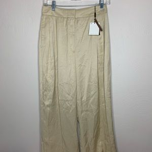 Gorgeous Gold Massimo Dutti Limited Edition Pants